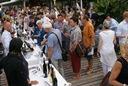 Pinot noir in der Frauenbadi Zürich, ein voller Erfolg.